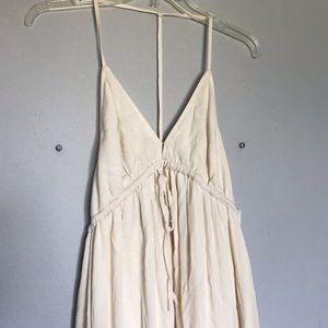 NWT Gorgeous cream white maxi dress